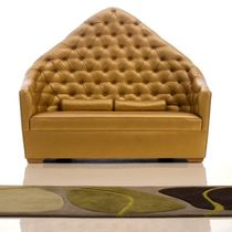traditional upholstered bench GALAXUS Haziza
