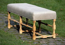 traditional upholstered bench MATHILDE by Livine ST-PAUL HOME