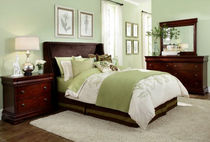 traditional upholstered double bed HAMLYN Broyhill