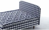 traditional upholstered headboard for double bed HARMONI by Jack Ryde Hästens