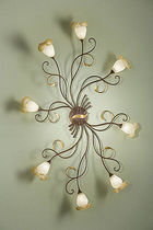 traditional wall light (bronze) PIERO: 027/8PL arte luce