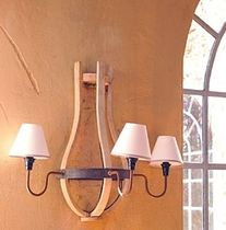 traditional wall light WOOD POMAX