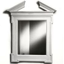 traditional wall mirror GEORGIAN BROKEN PEDIMENT Donghia