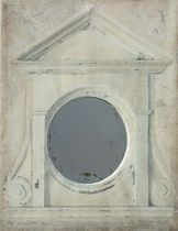 traditional wall mirror OEIL DE BOEUF PROVENCE & FILS