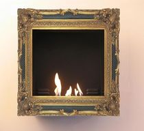 traditional wall-mounted fireplace (bioethanol closed hearth) CADRES ANTIQUES  BOX-BOX Climart