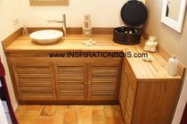 traditional washbasin cabinet  INSPIRATION BOIS