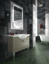 traditional washbasin cabinet with mirror MOD. 900 COMP.C05 Gruppo Tarrini
