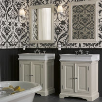 traditional washbasin cabinet with mirror ENSEMBLE MAJERLING Aqua Prestige