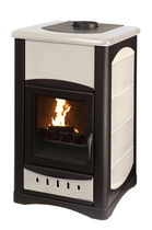 traditional wood-boiler stove UNIFLAM IDRO 25 KW  Calux Srl