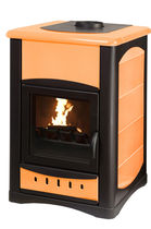 traditional wood-boiler stove UNIFLAM IDRO 34 KW  Calux Srl