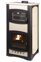 traditional wood-boiler stove (with oven) UNIFLAM IDRO 34 KW Calux Srl