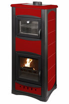 traditional wood-boiler stove (with oven) UNIFLAM IDRO 25 KW Calux Srl