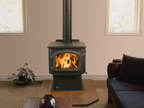 traditional wood-burning stove MILLENNIUM 2100 QUADRA-FIRE