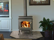 traditional wood-burning stove STEP TOP 4300 QUADRA-FIRE