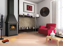 traditional wood-burning stove BAUGY CHEMINEES PHILIPPE