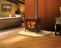 traditional wood-burning stove (cast iron) CUMBERLAND GAP QUADRA-FIRE