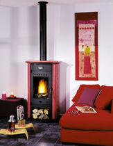 traditional wood-burning stove (ceramic) ATALEN CHEMINEES PHILIPPE