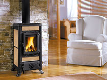 traditional wood-burning stove (ceramic) FULVIA  Nordica