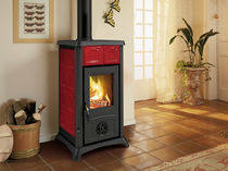 traditional wood-burning stove (ceramic) GEMMA Nordica