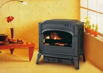 traditional wood-burning stove (Double combustion, cast iron) DOVRE 750 GH DOVRE France