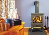 traditional wood-burning stove (Double combustion, cast iron) DOVRE 550 CB DOVRE France