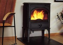 traditional wood-burning stove (Double combustion, cast iron) DOVRE 425 CB DOVRE France