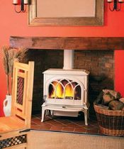 traditional wood-burning stove (Double combustion, cast iron) F 400 Jøtul
