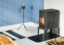 traditional wood-burning stove (Double combustion, cast iron) DOVRE 40 CB DOVRE France