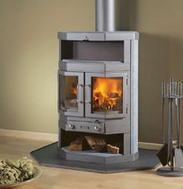 traditional wood-burning stove (soapstone) HAMAR Barbas