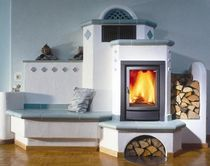 traditional wood-burning stove (ceramic)  Flam
