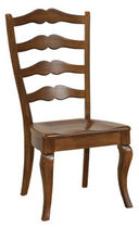 traditional wood chair COUNTRY LADDERBACK  NICHOLS & STONE