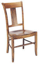 traditional wood chair PROVENCE NICHOLS &amp; STONE