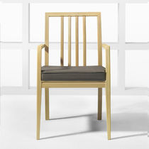 traditional wood chair with armrests LINEAL Halcon