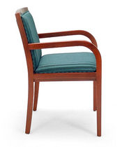 traditional wood chair with armrests ELLINGTON jack cartwright