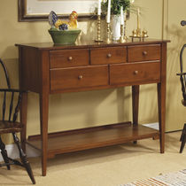 traditional wooden chest of drawers AMERICAN HERITAGE NICHOLS & STONE