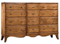 traditional wooden chest of drawers VIRGINIA  NICHOLS & STONE