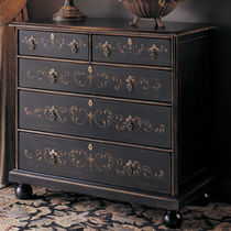 traditional wooden chest of drawers HAND PAINTED NICHOLS & STONE