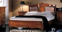 traditional wooden double bed CHAMBERY 511/P Bassi F.lli