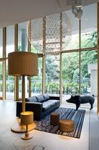 traditional wooden floor lamp TREE  moooi