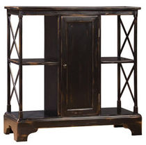 traditional wooden shelf CENTER CABINET NICHOLS &amp; STONE