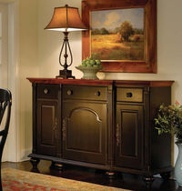 traditional wooden sideboard COUNTRY ESTATES NICHOLS & STONE