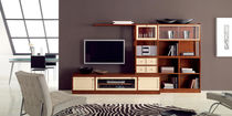 traditional wooden TV wall unit DOLCE VITA 108 Bassi F.lli