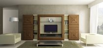 traditional wooden TV wall unit EROS SALON4 MOBIL FRESNO