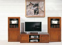 traditional wooden TV wall unit ART.300/A Arte Antiqua di Zen Adriano
