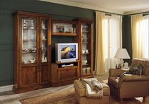 traditional wooden TV wall unit TOSCA  Zilio Mobili