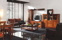 traditional wooden TV wall unit ENIA HURTADO