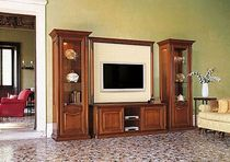 traditional wooden TV wall unit MILLEMIGLIA f