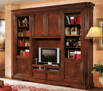 traditional wooden TV wall unit BASSANO : 725 VACCARI CAV. GIOVANNI