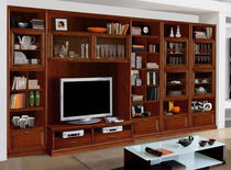 traditional wooden TV wall unit FIRENZE : 910 VACCARI CAV. GIOVANNI