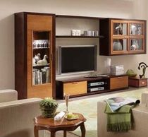 traditional wooden TV wall unit ELEGANZA SELVA